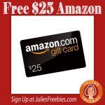 FREE $25 Amazon Gift Card