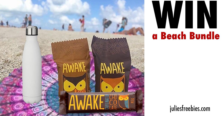 Win an Awake Chocolate Beach Bundle - Julie's Freebies