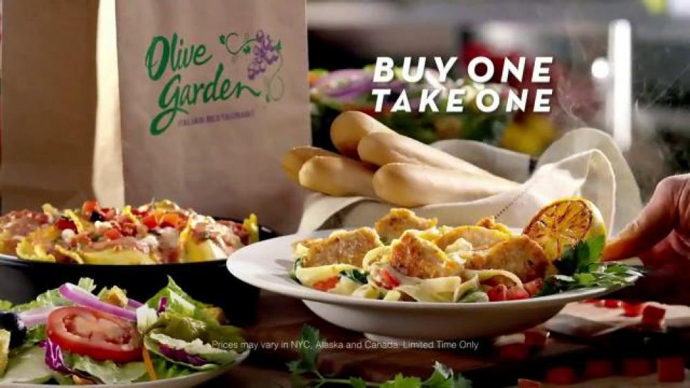 Buy One Take One At Olive Garden Julie 39 S Freebies