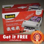 Be a Chatterbox for the Scotch Thermal Laminator