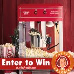 Win a Waring Pro Kettle Popcorn Maker