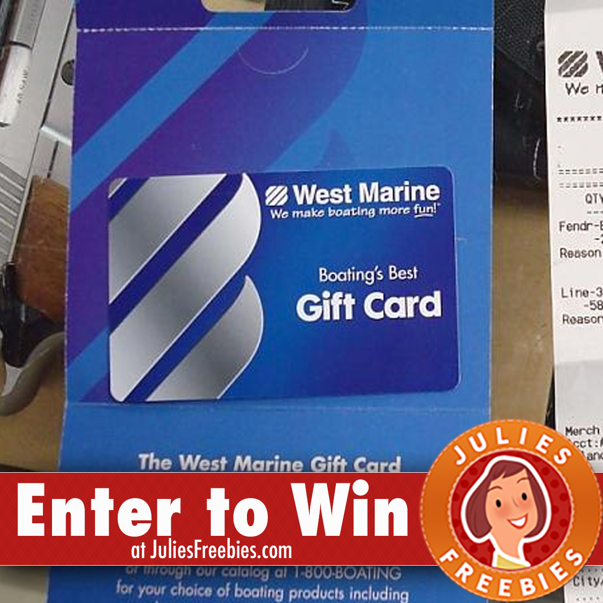 Win a $500 West Marine Gift Card - Julie's Freebies