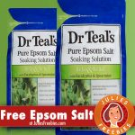 Free Sample of Dr. Teal's Pure Epsom Salts
