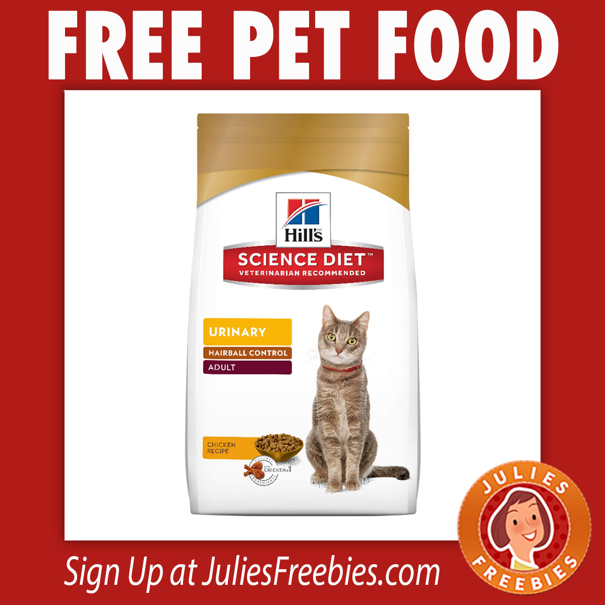 Free Bag Of Hills Science Diet Pet Food At PetSmart