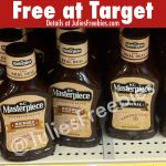 Free KC Masterpiece BBQ Sauce at Target