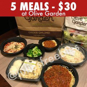 Get Five Entrees At Olive Garden For 30 Julie 39 S Freebies
