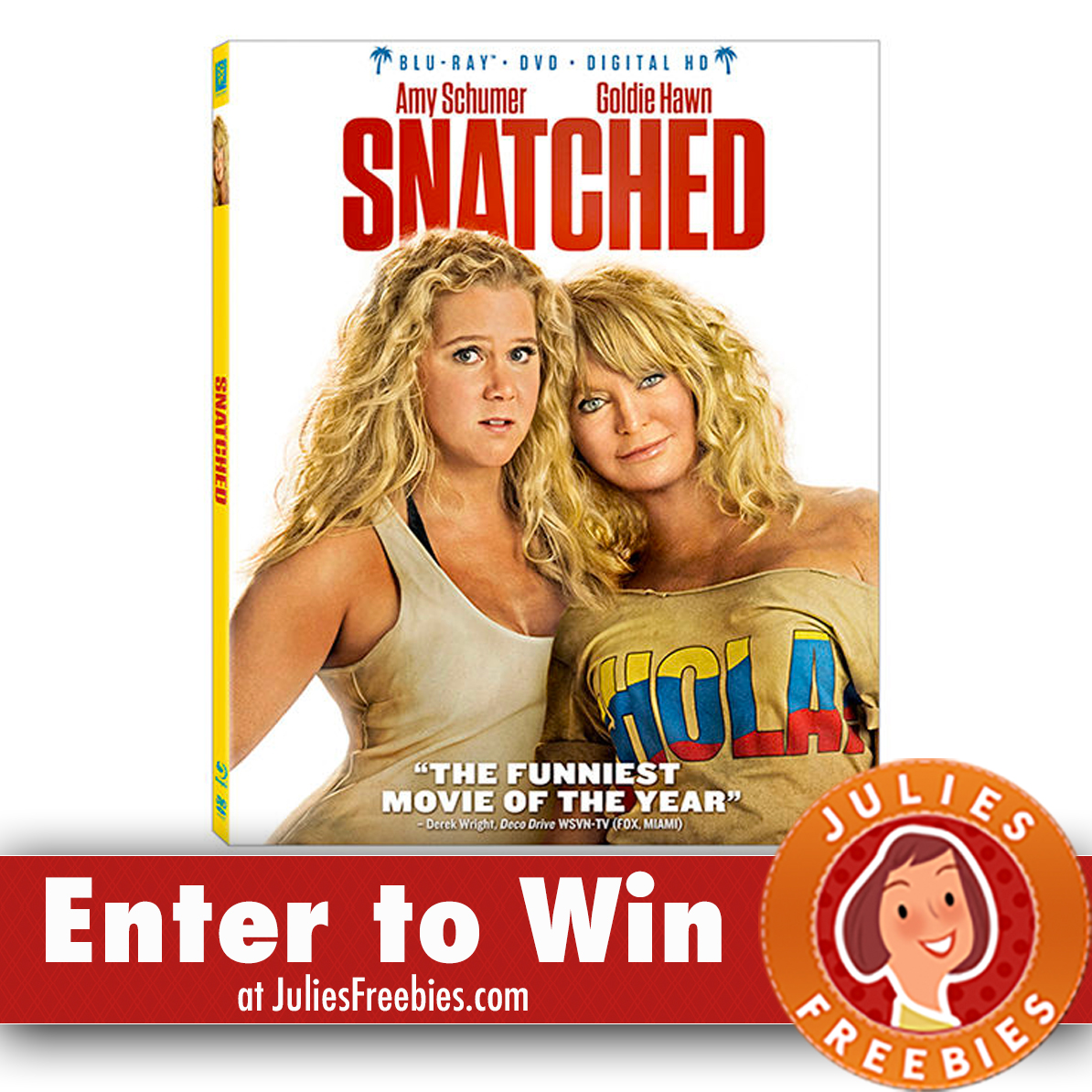 Enter To Win 1 000 Gift Card From Blu Dot: Win A Copy Of Snatched On Blu-Ray And DVD