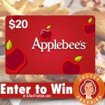Win a $20.00 Applebee's Gift Card – Today Only