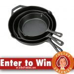 Win a Set of Cast Iron Skillets