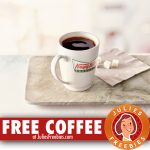 Free Hot or Iced Coffee at Krispy Kreme