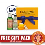 Free Gift Pack at L'Occitane Boutique