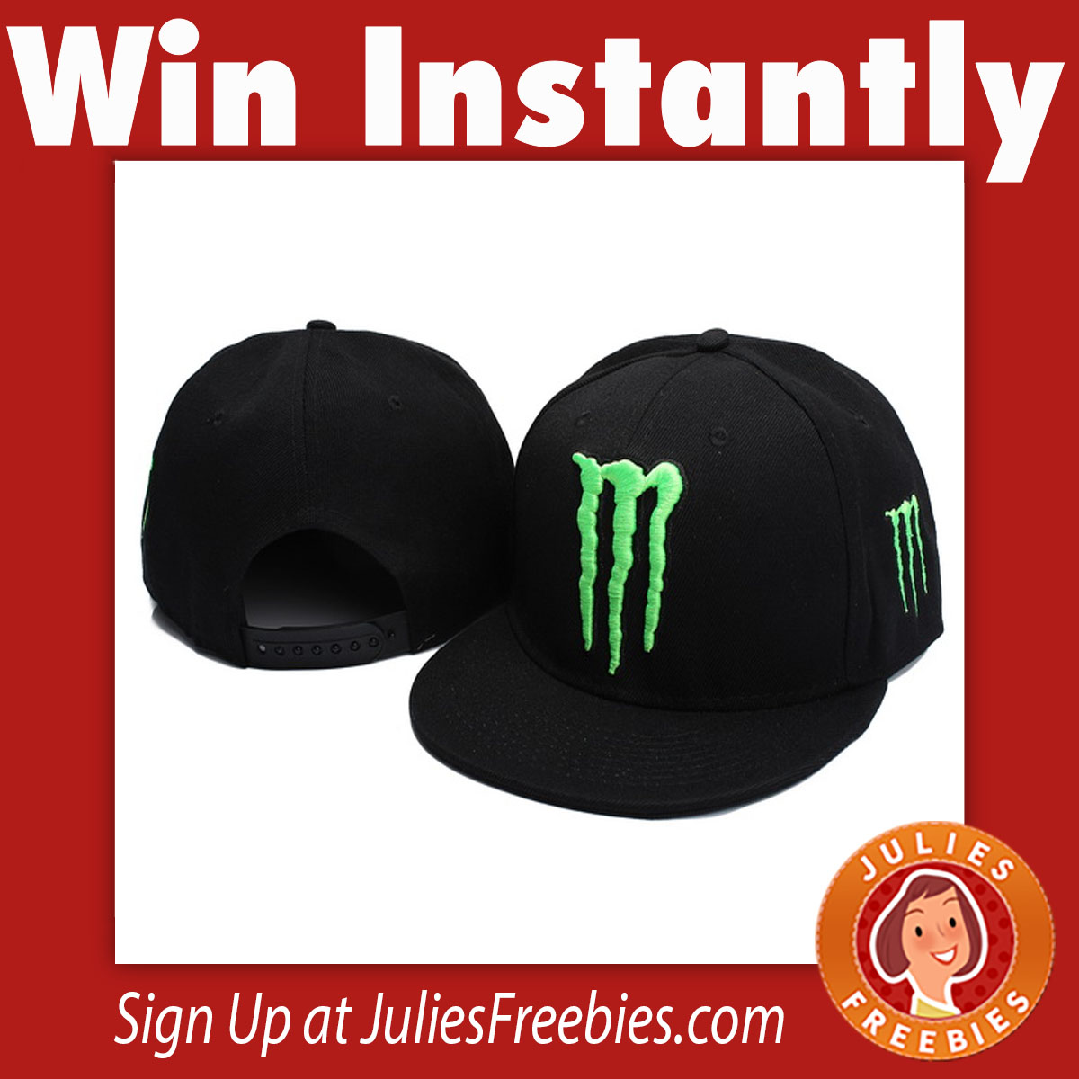 sweepstakes by mail monster energy instant win game and sweepstakes freebies 5390