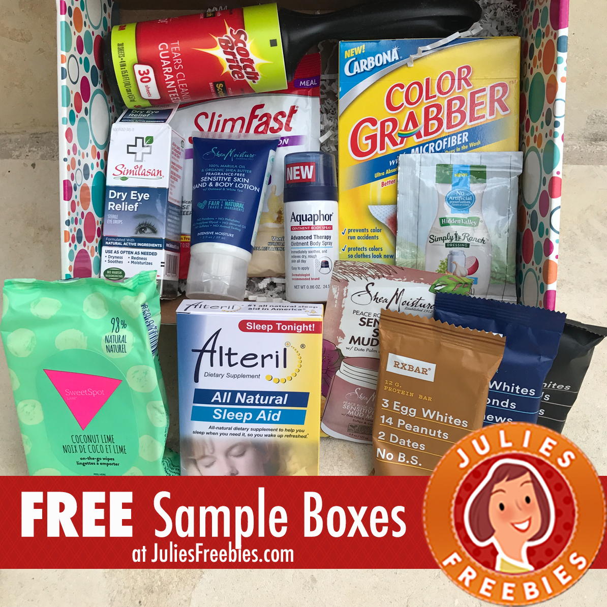 Free PinchMe Sample Boxes