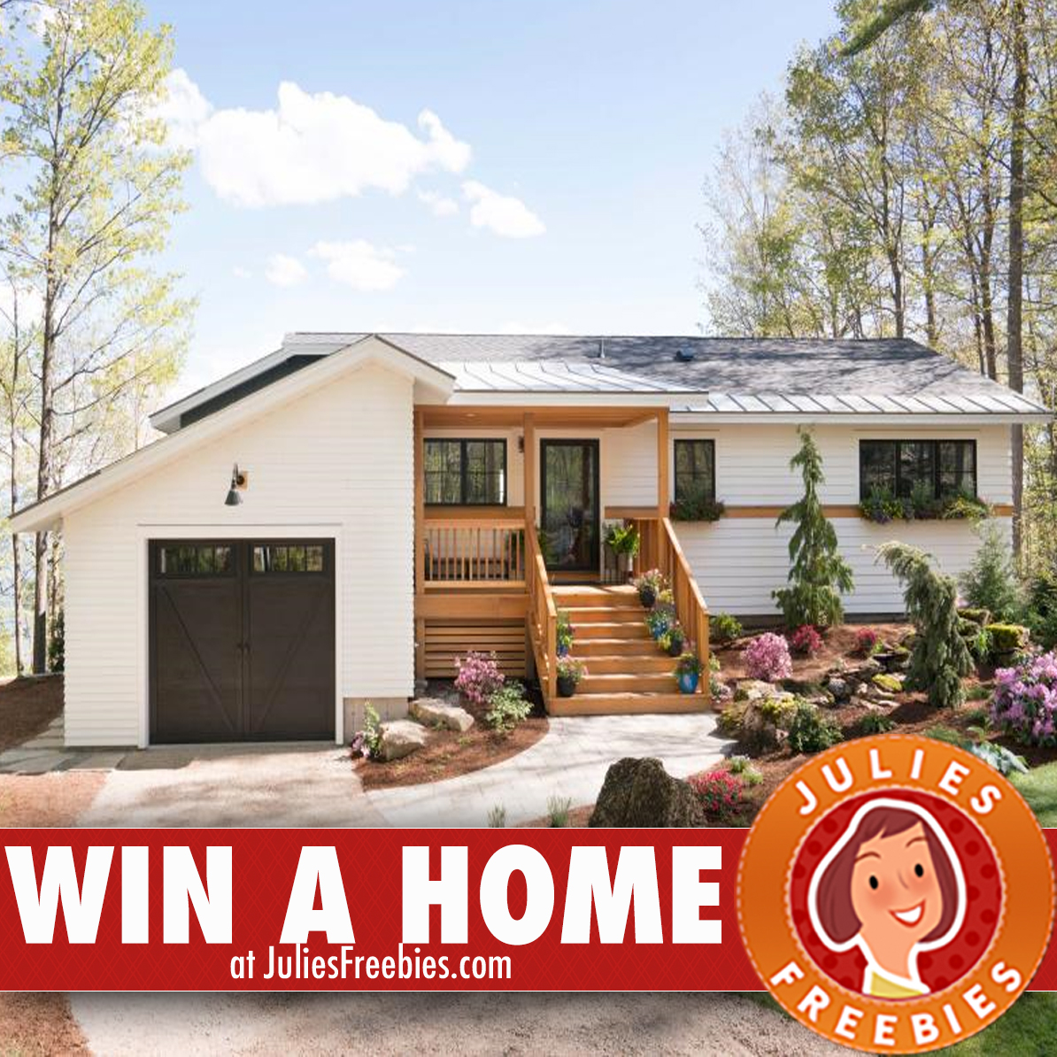 Win the 2017 ultimate retreat home julie 39 s freebies for Diy network ultimate retreat 2017