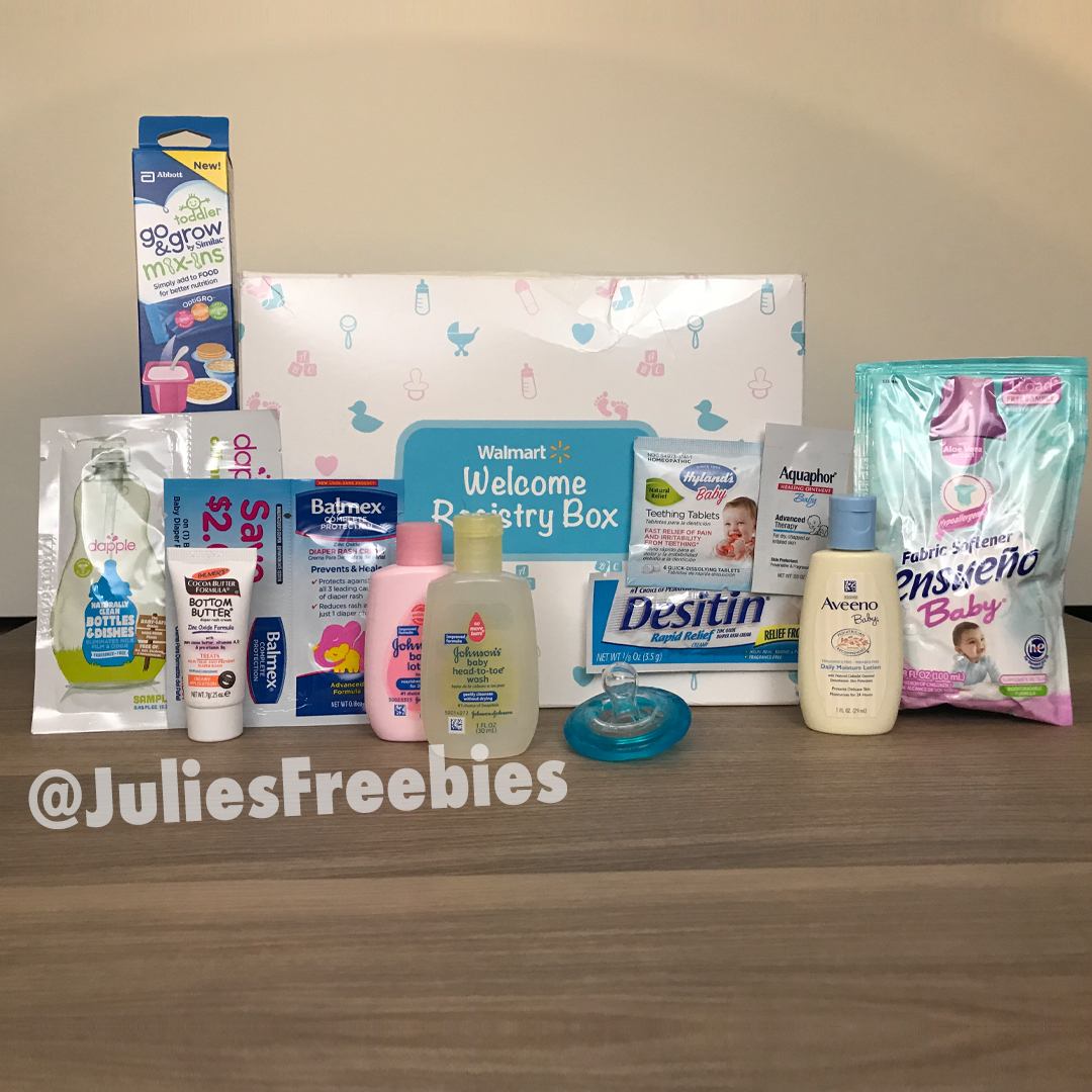 Walmart Wants To Send You A Box Of Free Baby Stuff