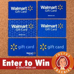 Win a $250.00 Walmart Gift Card - Julie's Freebies