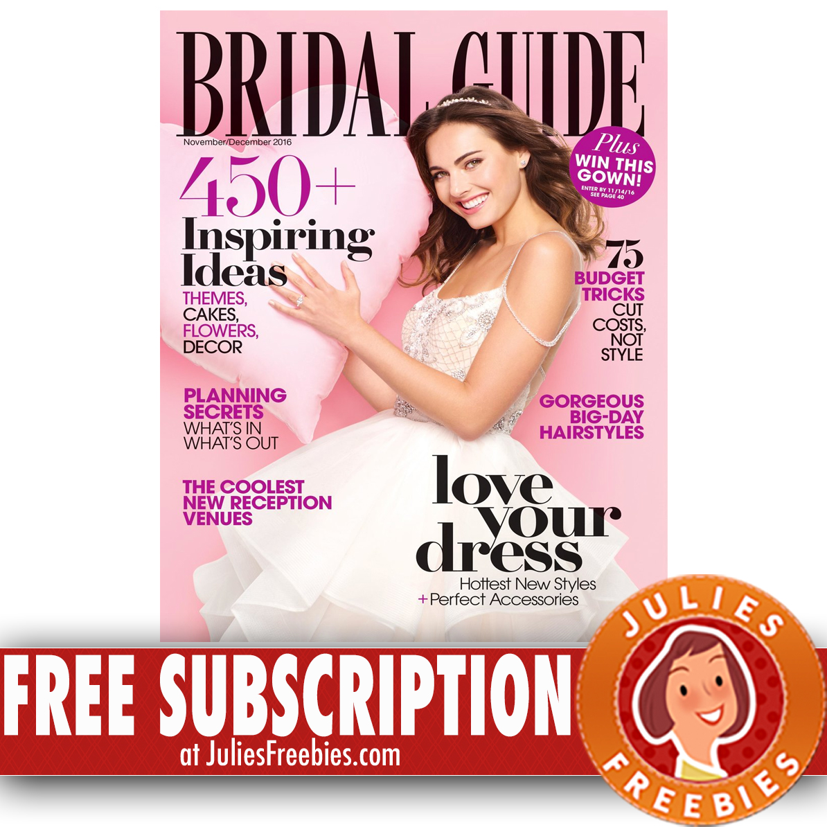 Wedding Magazine Subscriptions: Free 2 Year Subscription To Bridal Guide Magazine