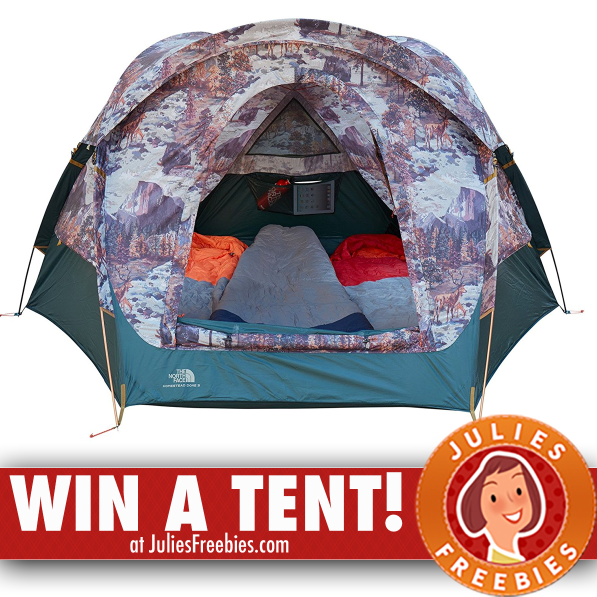 Here is an offer where you can enter to win tent and more from Guenoc.  sc 1 st  Julieu0027s Freebies & Win a Northface Homestead Domey 3 Tent - Julieu0027s Freebies
