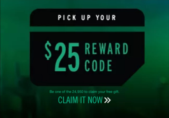 Free $25 Reward Code - Julie's Freebies
