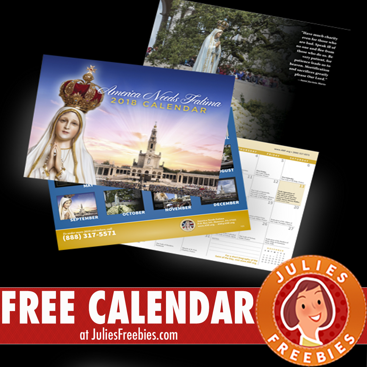 Freebies in the mail 2018