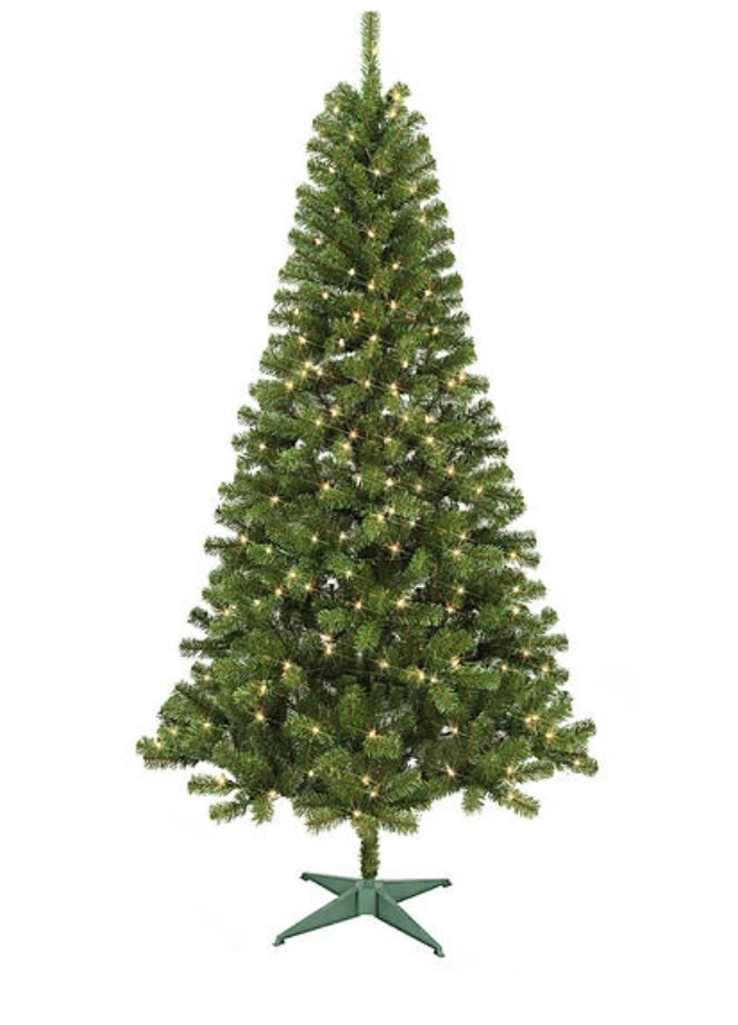 searss trimming traditions 7 pre lit black friday deal 3999 - Black Friday Christmas Tree Sale