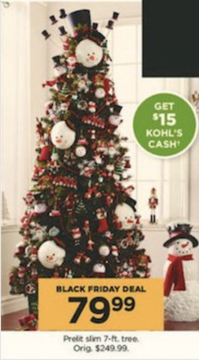 Black Friday Christmas Decorations.Black Friday Christmas Tree Deals Julie S Freebies