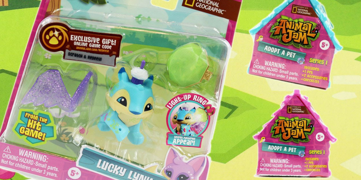 HURRY! Save 50% Off Animal Jam Toys at Toys R Us - Today Only