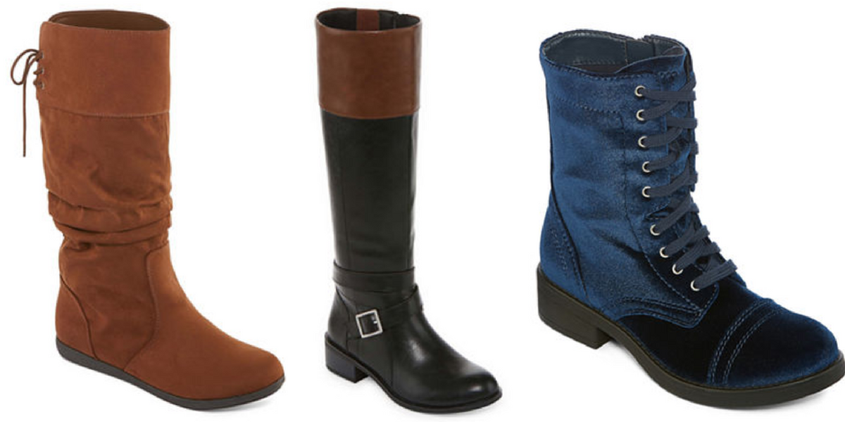 b65b6bcfb4dfe Head over to JCPenney for this amazing sale on select boots! Right now  you ll score a Buy 1 Get 2 Free sale on brand like Worthington