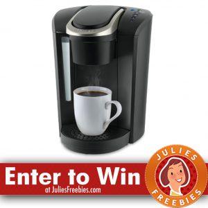 Win A Keurig K Select Coffee Maker More Julies Freebies