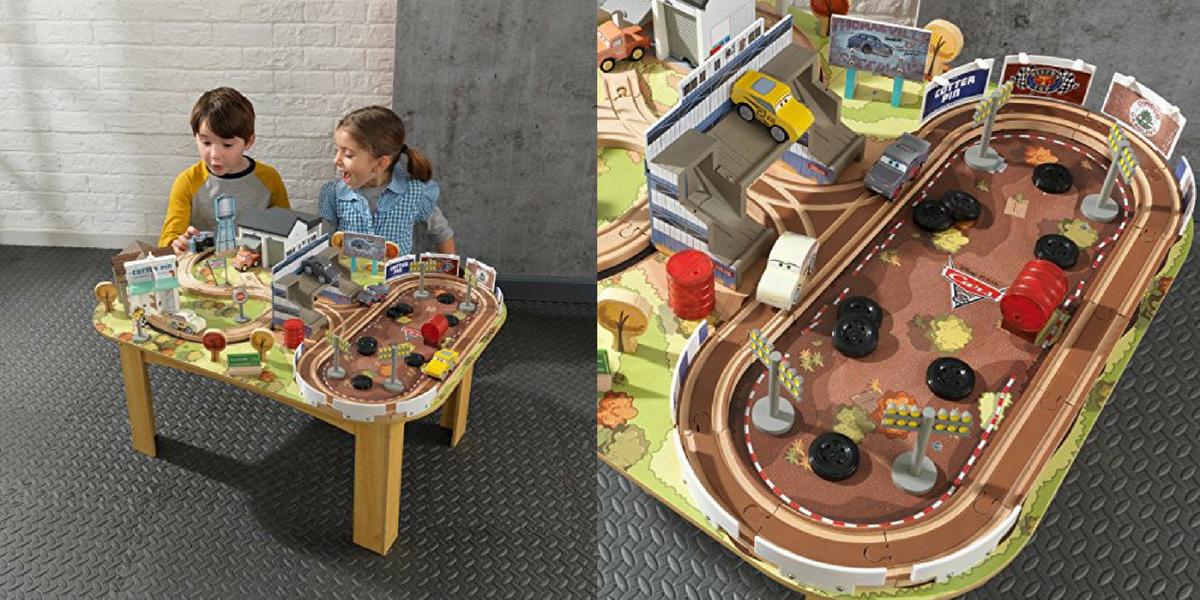 Hot Kidkraft Disney Pixar Cars 3 70 Piece Wooden Track Set 5998