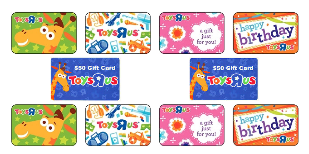 Hurry Pay Just 4500 For A 5000 Toys R Us Gift Card Julies