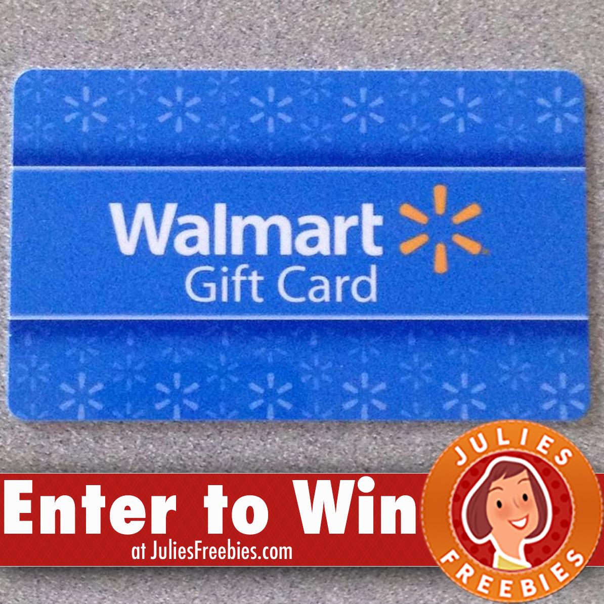 [6 WINNERS] Win A $25 Walmart Gift Card