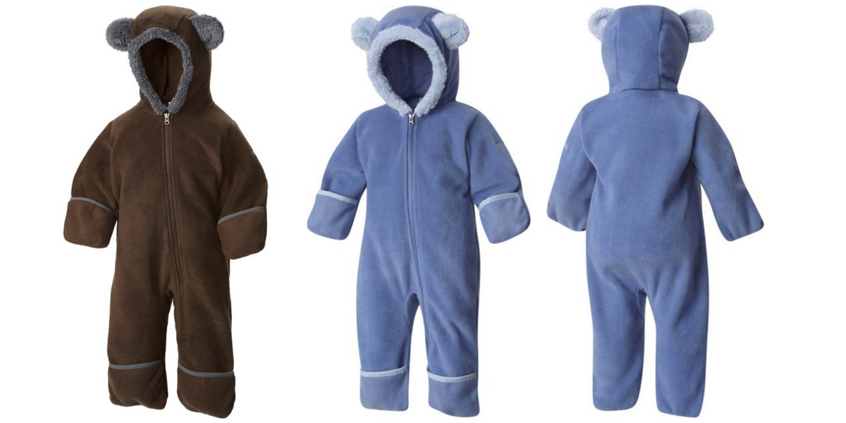a18116784 Columbia Infant Tiny Bear Fleece Bunting Now Only  29.99 Shipped ...