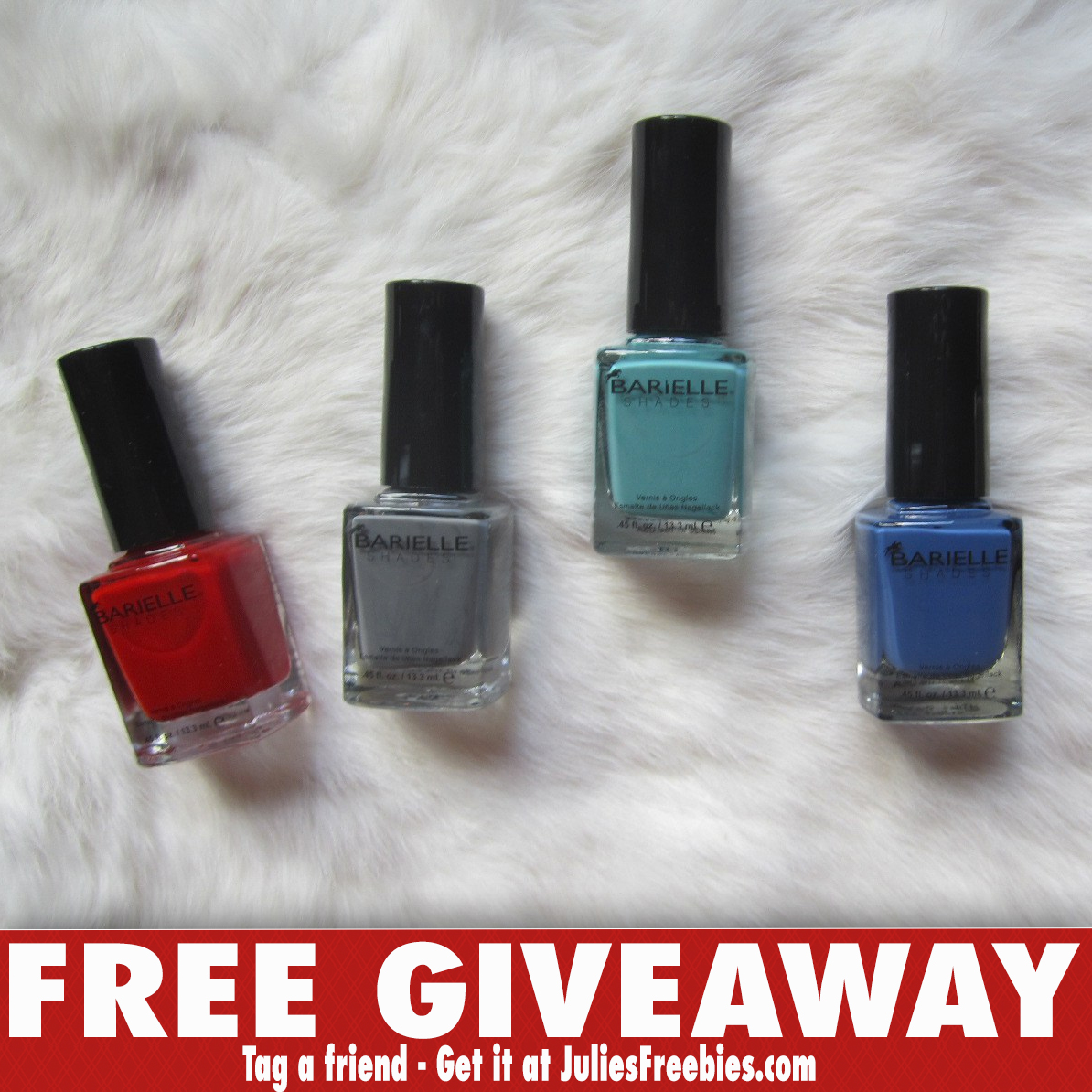 Barielle\'s Nail Polish Mania Giveaway - Julie\'s Freebies