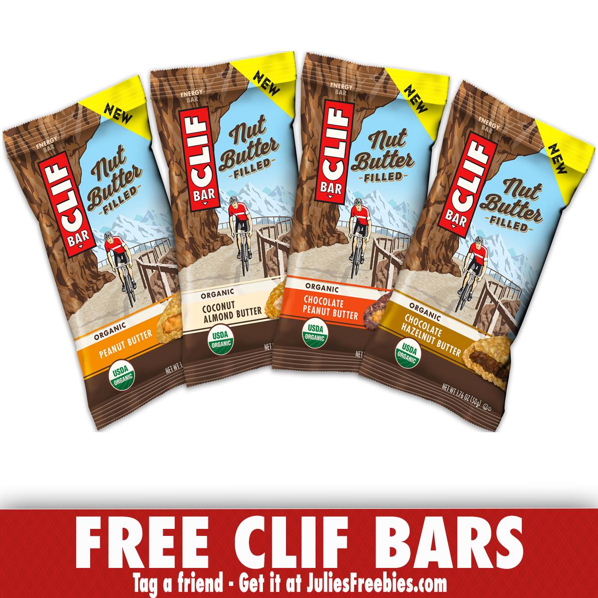 Free CLIF Nut Butter Filled Energy Bars at Walmart - Julie's Freebies