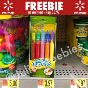 here is a great offer for crayola bathtub crayons at walmart follow my instructions below to get this one - Crayola Bathroom Crayons