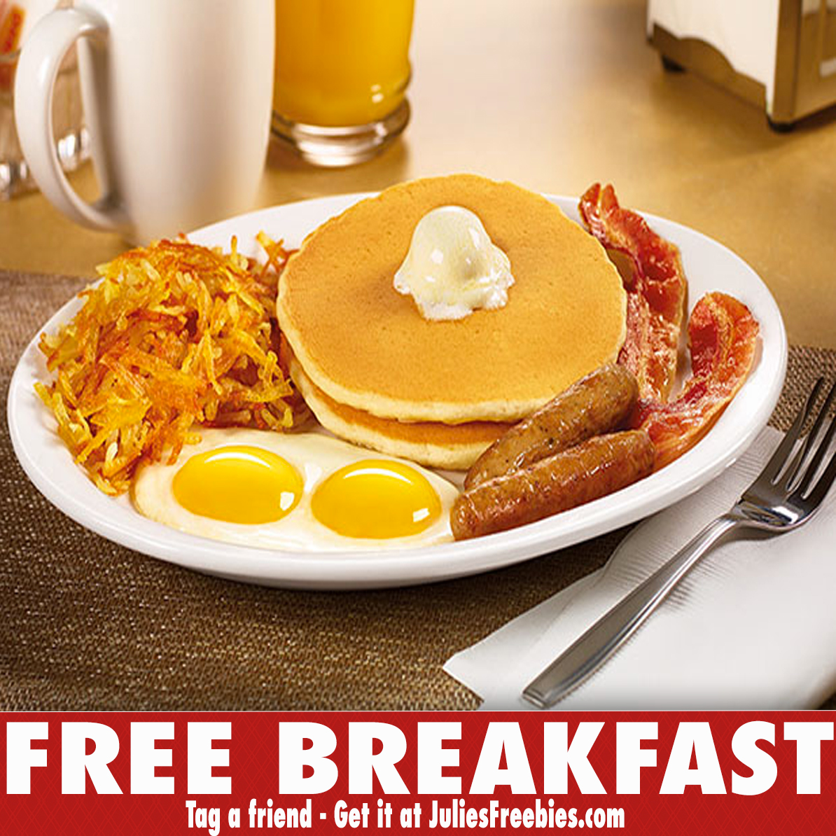 Dennys Birthday Grand Slam : Best Western $50 Gift Card
