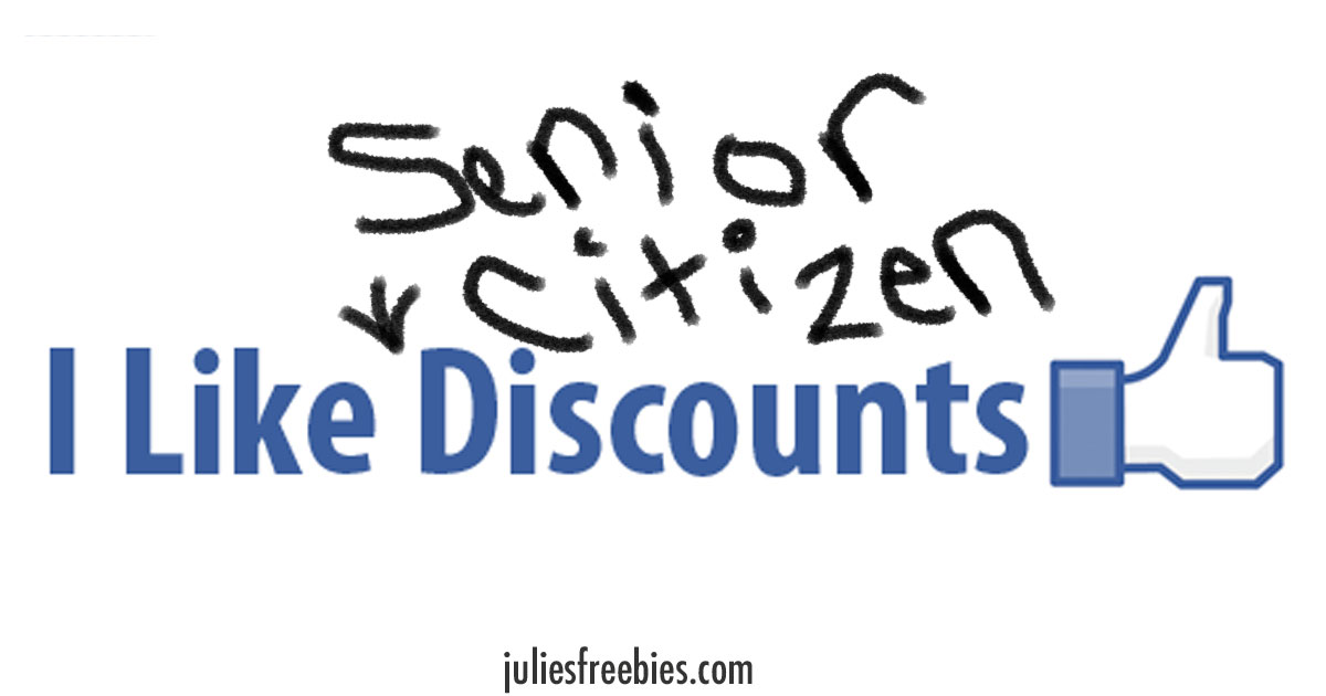 Senior Citizen Discounts List