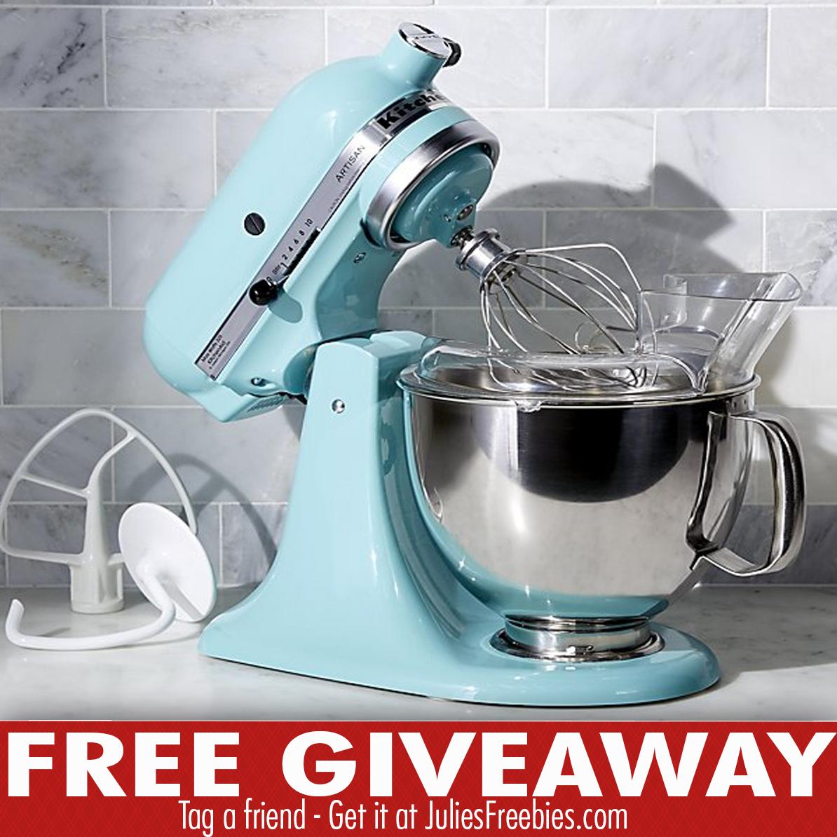 amazon kitchenaid mixer giveaway