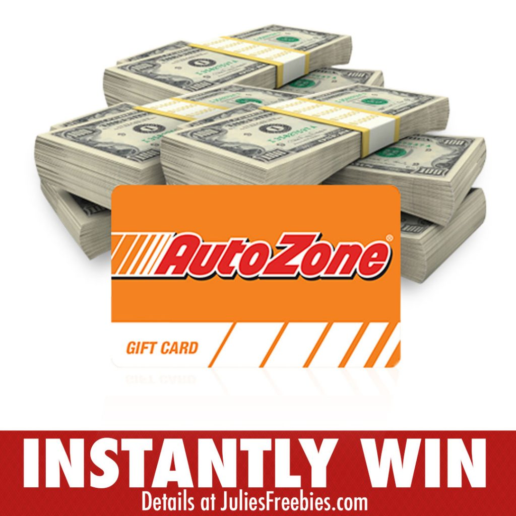 AutoZone Rev Up Your Refund Instant Win Game and Sweepstakes