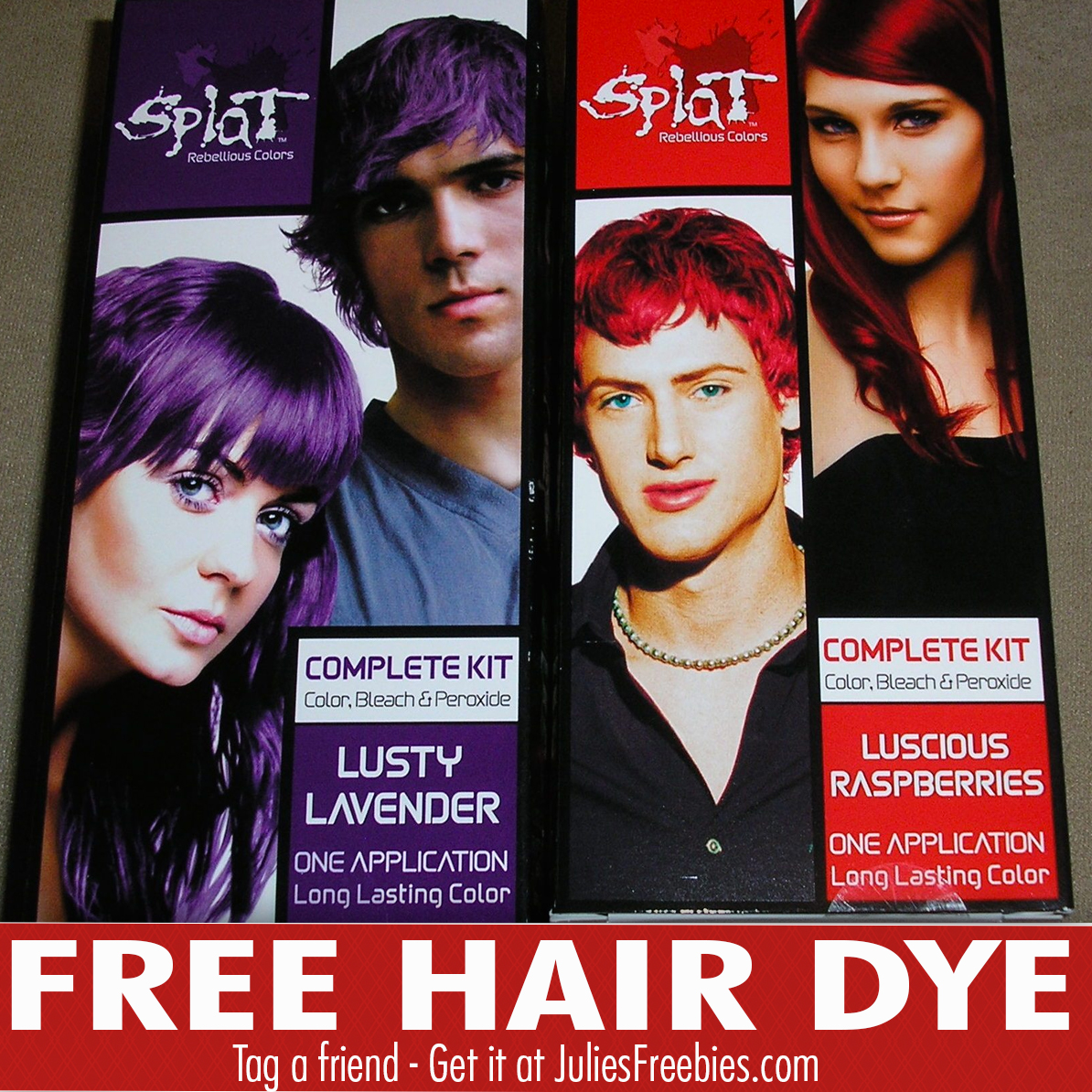 Free Splat Hair Dye Kit With Viewpoints Julies Freebies