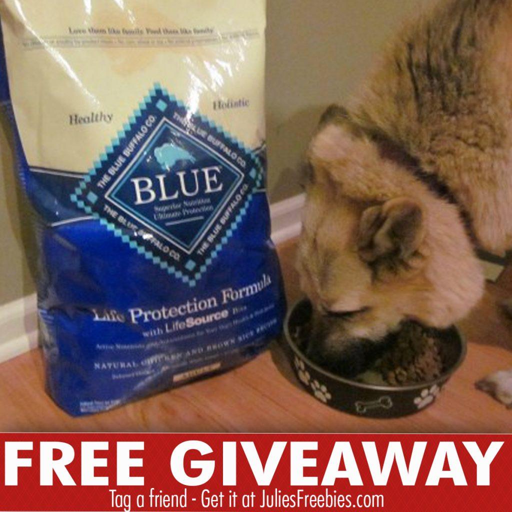 Win A 30lb Bag Of Blue Buffalo Dog Food