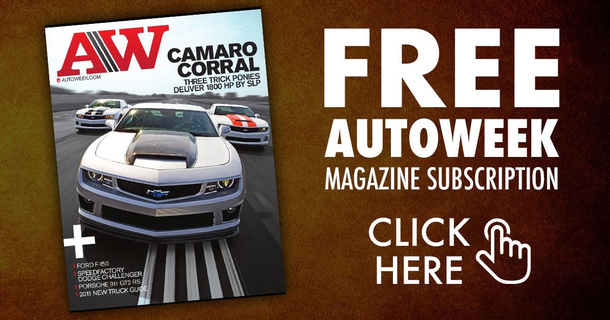 Autoweek subscription
