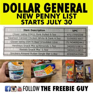 Dollar General Penny Shopping List 2019 - Julie's Freebies