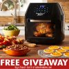 Power Air Fryer Oven Giveaway