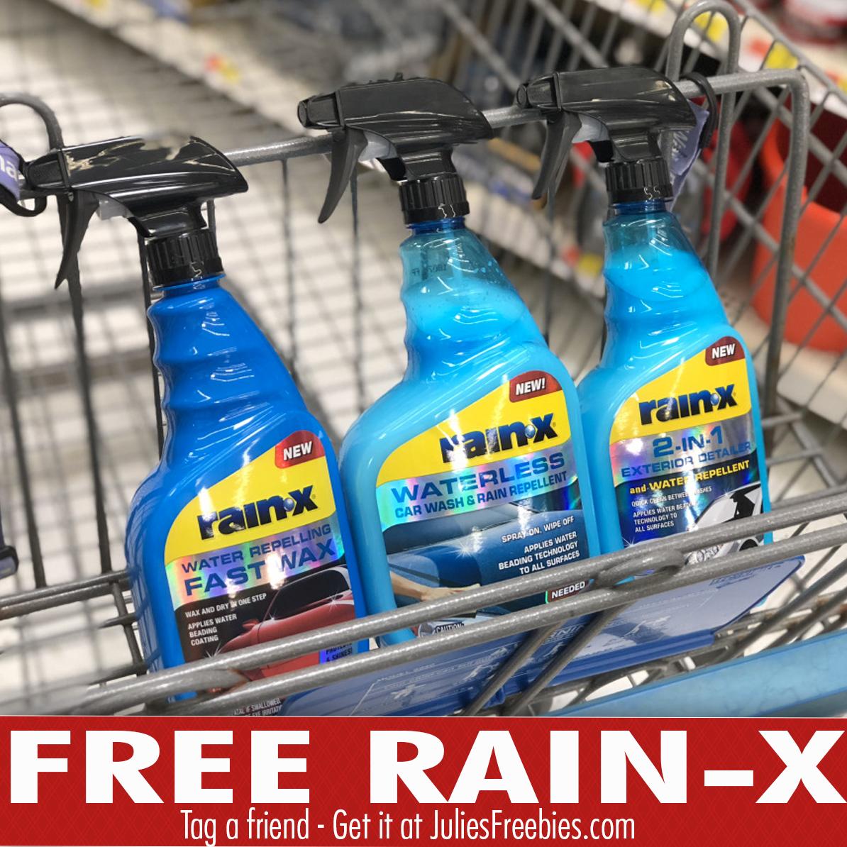 Free Rain-X Car Wash Products at Walmart (After Rebate) - Julie's
