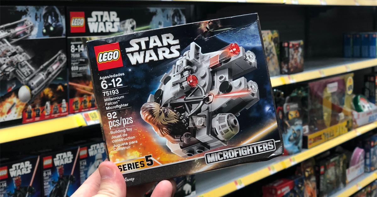 Free Lego Star Wars Millennium Falcon At Walmart Julies Freebies