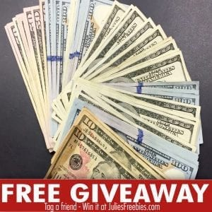 Free money giveaways freebies