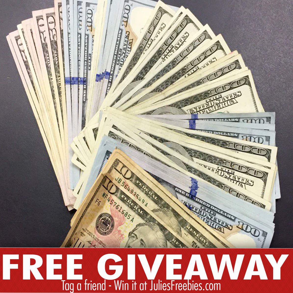 cash only sweepstakes 5 000 cash giveaway julie s freebies 5408