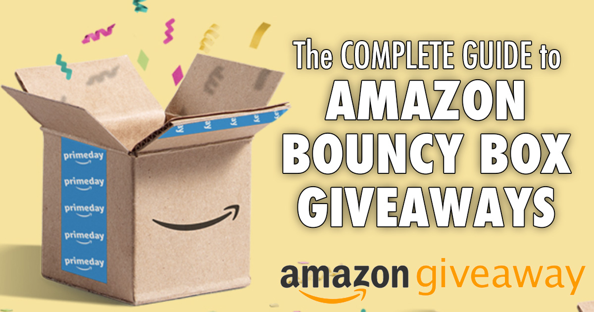 set up an amazon giveaway amazon giveaway complete guide to bouncy box giveaways 1511